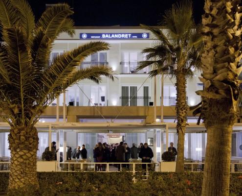 Fachada del Hotel en Valencia Playa